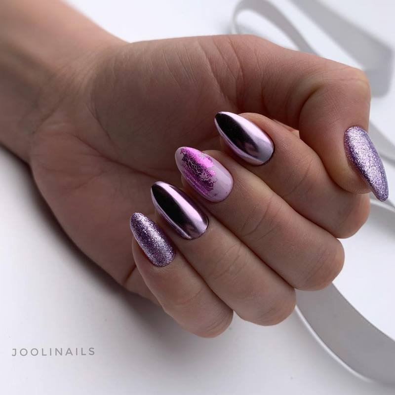 глянец блеск на ногтях